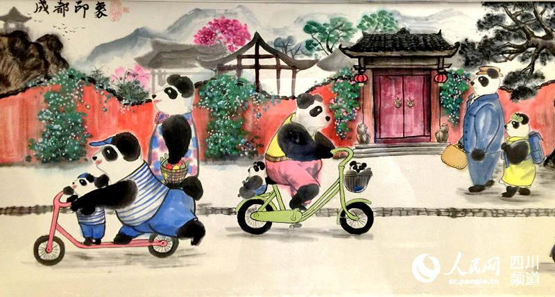 成都少儿书画作品展亮相四川博物馆