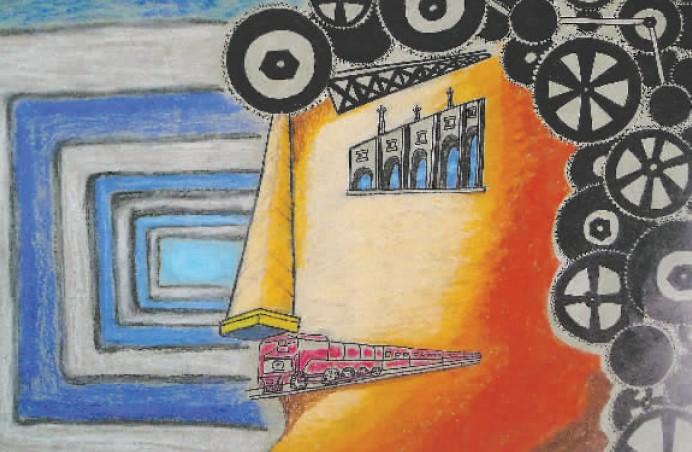 设有手工 儿童低段绘画班,色彩 思维想象创意素描班,国画 书法班,泥塑