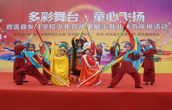 双流县举办乡村学校少年宫建设成果展示活动